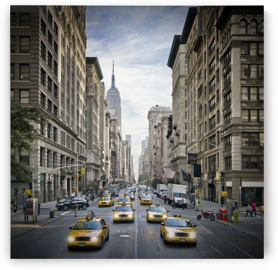 NEW YORK CITY 5th Avenue Street Scene by Melanie Viola