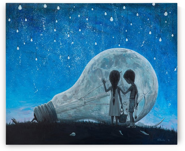 The Night We Broke The Moon by Adrian Borda