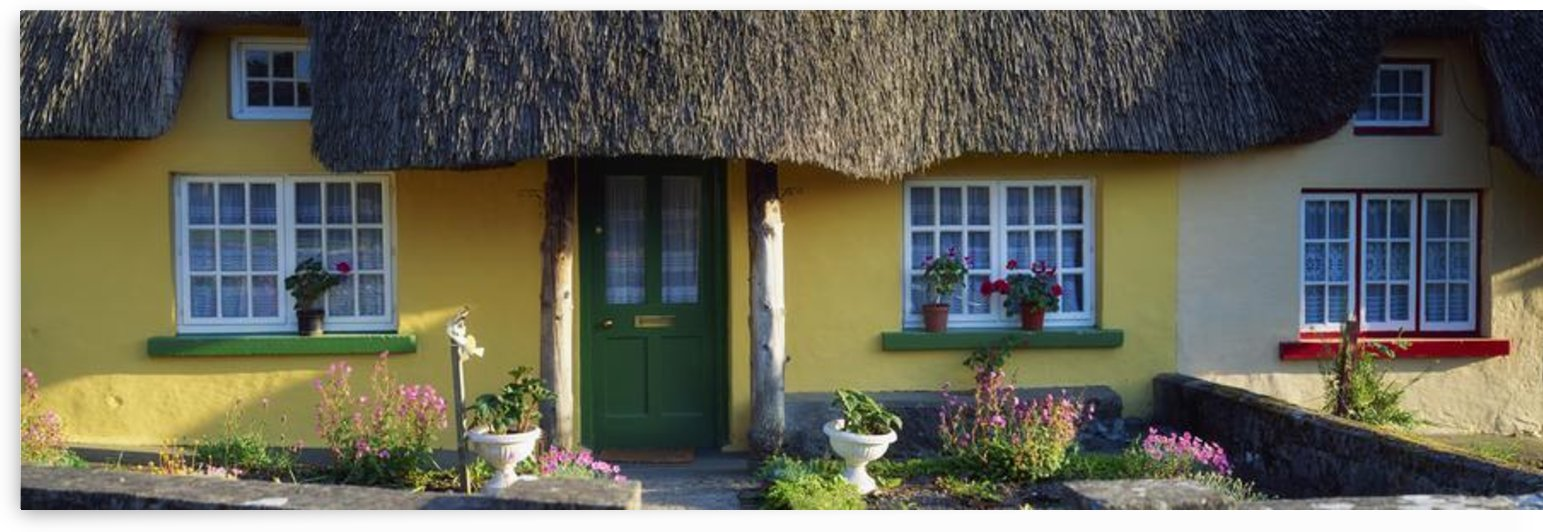 Thatched Cottage, Adare, Co Limerick, Ireland by PacificStock