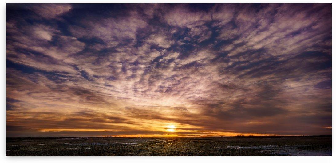 Alberta Sunrise by Lisa Poirier