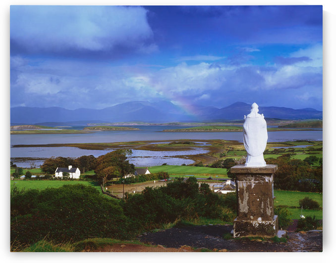 St Patrick's Statue, Co Mayo, Ireland by PacificStock