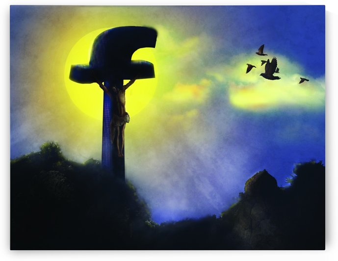 Modern cross by Tamer Mallak
