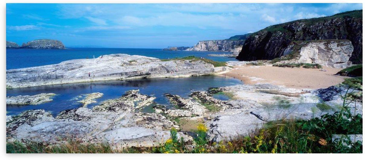 Ballintoy Harbour, Co Antrim, Ireland, Limestone Cliffs by PacificStock