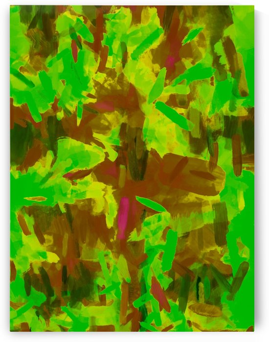 green yellow brown camouflage painting texture abstract background by TimmyLA