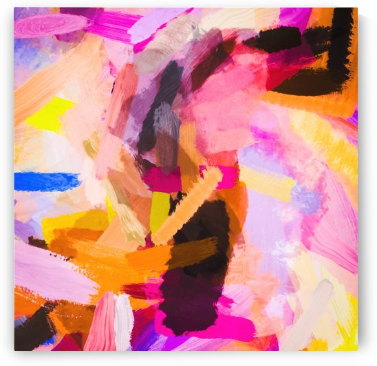 pink purple yellow brown painting texture abstract background by TimmyLA