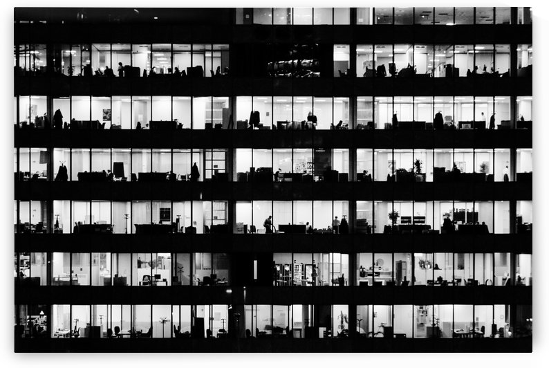 Office WIndows BW by Pixelme ca