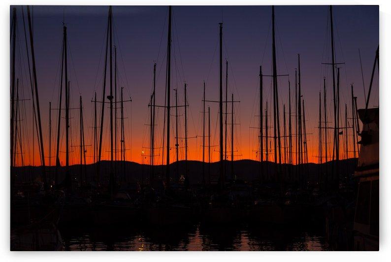 Saint Tropez Sunset by Pixelme ca