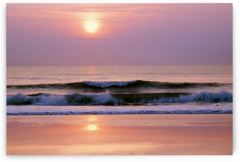 Sunrise Over The Atlantic Ocean, Florida, Usa by PacificStock