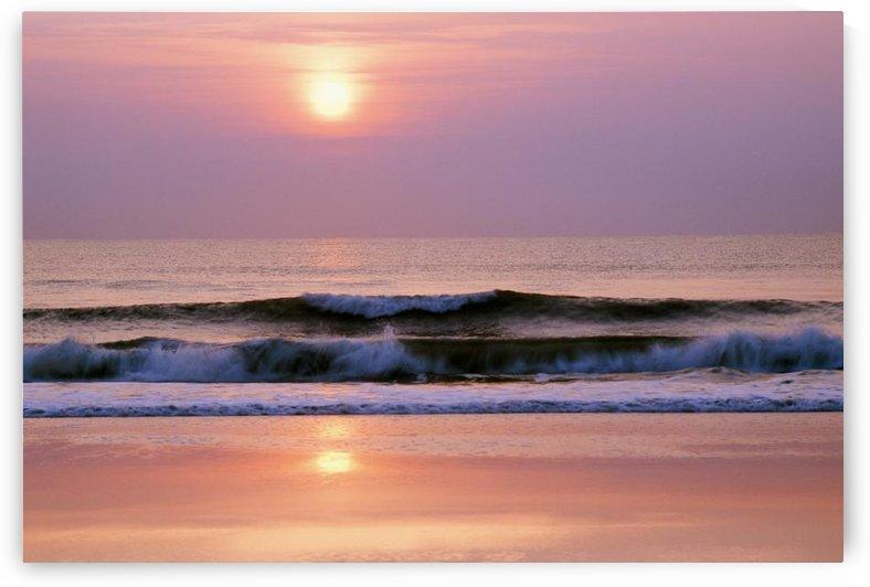 Sunrise Over The Atlantic Ocean, Florida, Usa by PacificStock