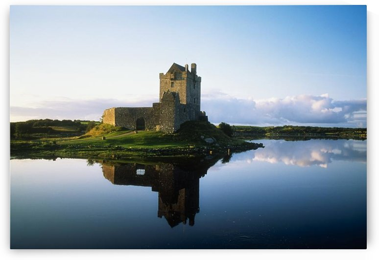 Dunguaire Castle, Kinvara, County Galway, Ireland; Historic Castle On Bay by PacificStock