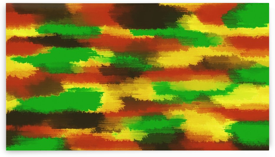 green red yellow and brown painting abstract background by TimmyLA