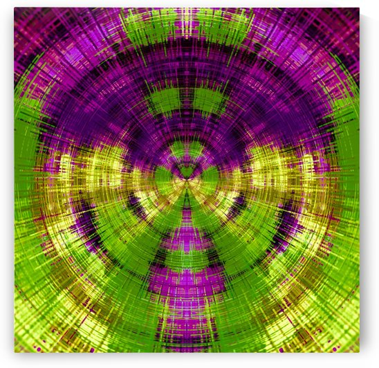 geometric purple and green circle plaid pattern texture abstract background by TimmyLA