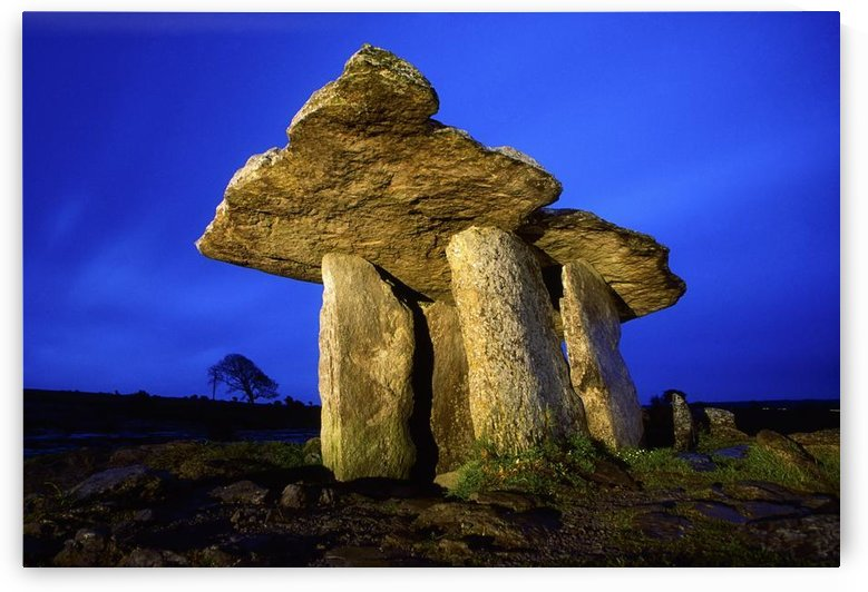 The Burren, County Clare, Ireland; Poulnabrone Dolmen by PacificStock