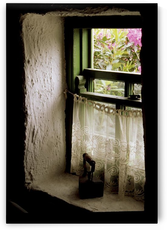 County Kerry, Ireland; Cottage Window by PacificStock