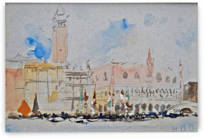 The Doge's Palace, Venice by Hercules Brabazon Brabazon