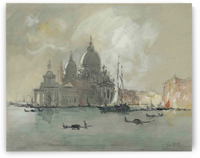 View of the Salute, Venice by Hercules Brabazon Brabazon