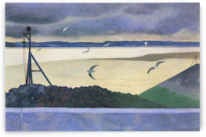 Gulls by Felix Vallotton by Felix Vallotton