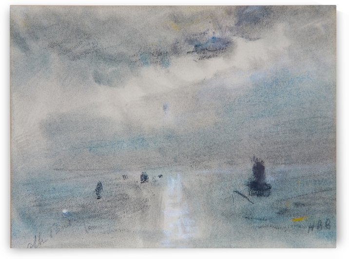 After Turner by Hercules Brabazon Brabazon