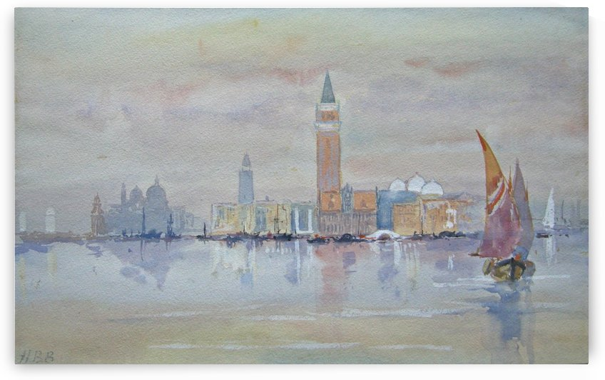 Venice from the Bacino by Hercules Brabazon Brabazon