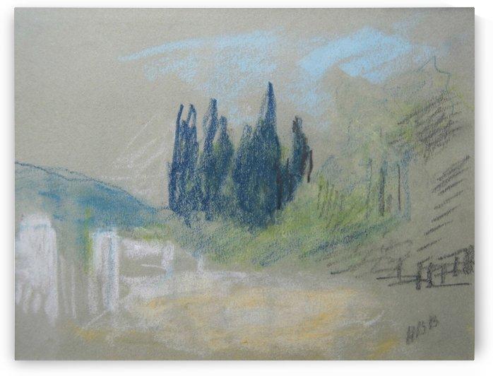 Cypress grove by Hercules Brabazon Brabazon