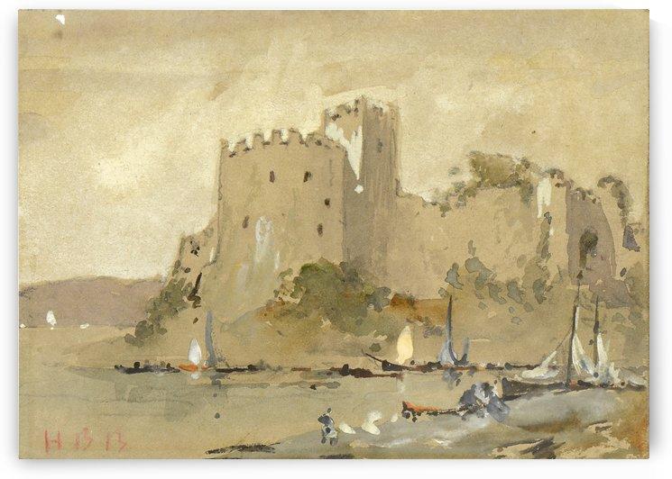 Chepstow Castle by Hercules Brabazon Brabazon