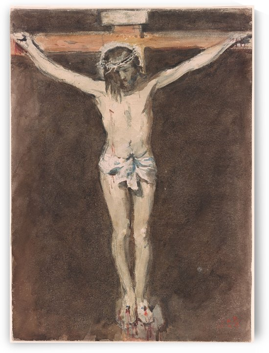 Christ on the Cross by Hercules Brabazon Brabazon