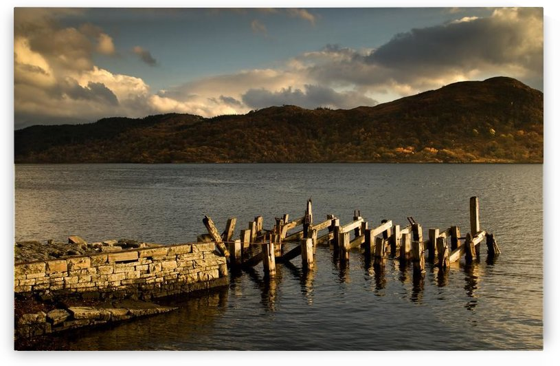 Broken Dock, Loch Sunart, Scotland by PacificStock