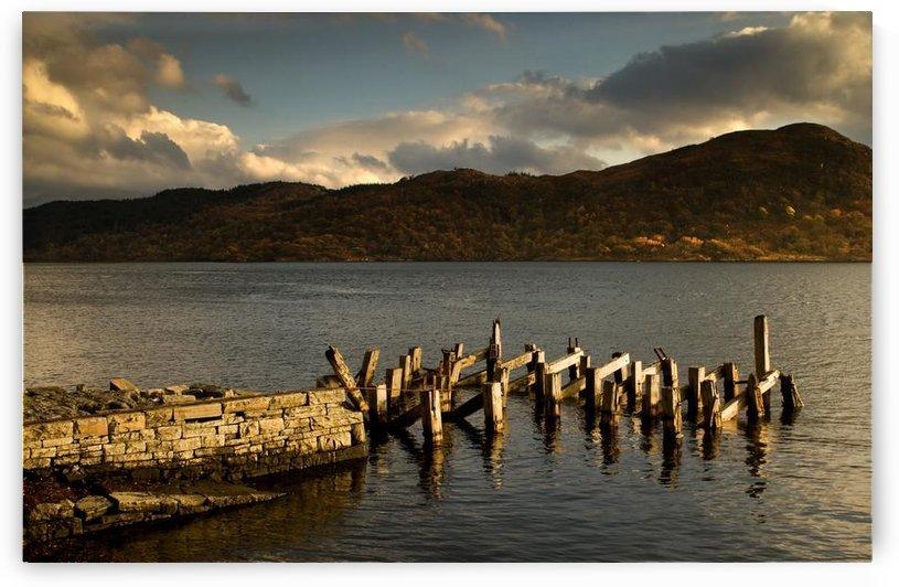 Broken Dock, Loch Sunart, Scotland by PacificStock