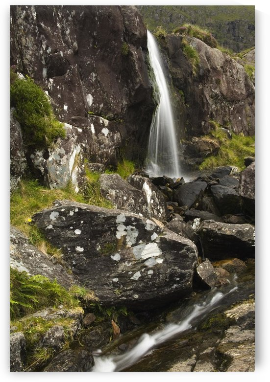 Connor Pass, Dingle Peninsula, County Kerry, Ireland; Waterfall by PacificStock