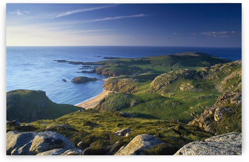 Boyeeghter Strand And Melmore Head, County Donegal, Ireland by PacificStock