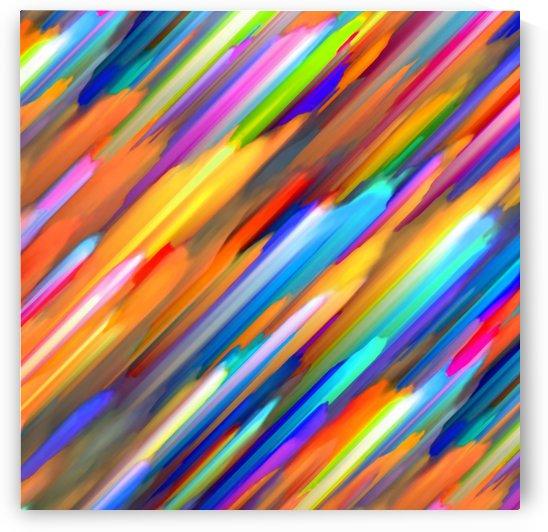 Colorful digital art splashing G391 by Medusa GraphicArt