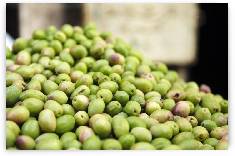 Fresh Olives at market in Old Cairo by Raisa Mirza