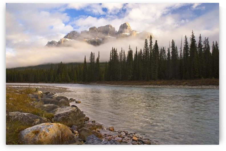 Mountain Landscape, Banff National Park, Alberta, Canada by PacificStock