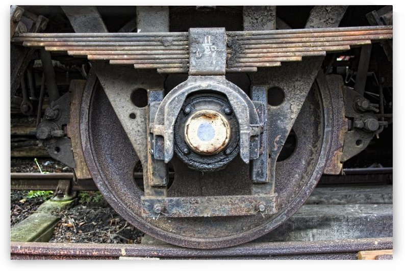 Train Wheel by PacificStock