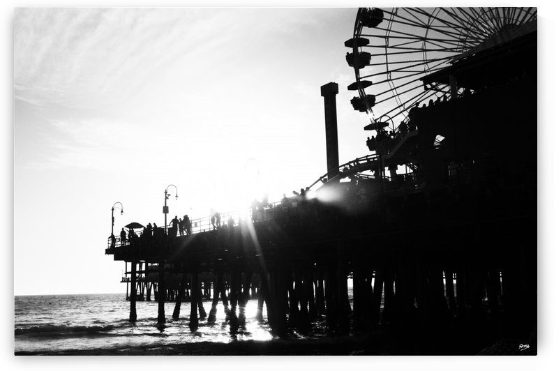05_ SEA STRUCTURES_DOWN UNDER THE SANTA MONICA PIER V by Ivan Attila