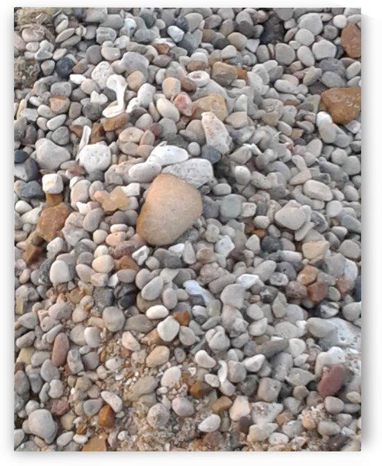 Beach Sand Rocks by Marlo Mc Coy