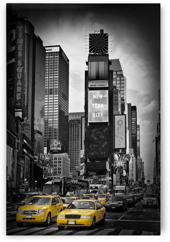 NEW YORK CITY Times Square | colorkey by Melanie Viola