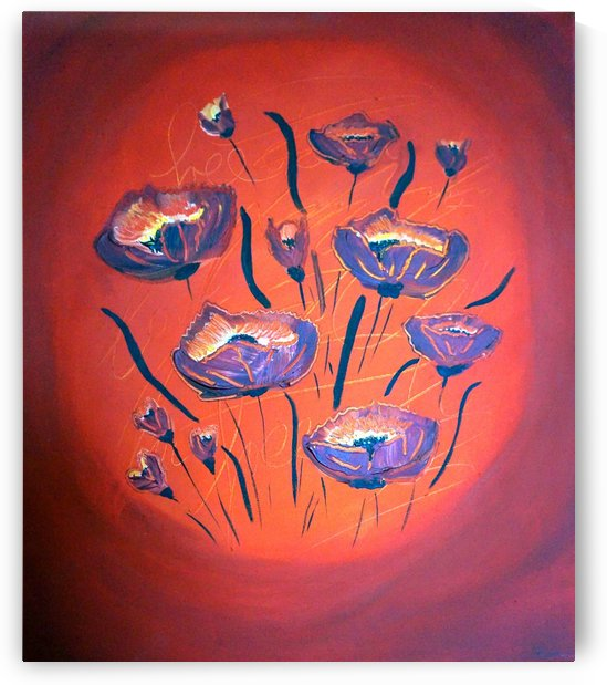 Poppy flower III by Babett-s Bildergalerie