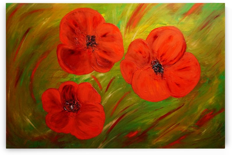 Poppy flower oil by Babetts Bildergalerie