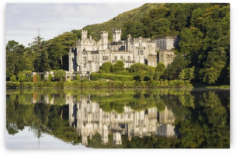Kylemore Abbey, County Galway, Ireland; Historic Irish Abbey By A Lake by PacificStock