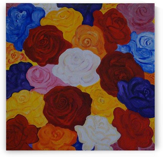 Colorful roses by Babett-s Bildergalerie