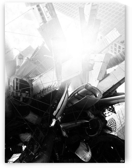 SPACE JUNK I by Ivan Attila