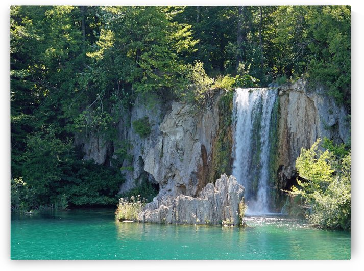 waterfall - Plitvicer lakes-nationalpark by Babett-s Bildergalerie