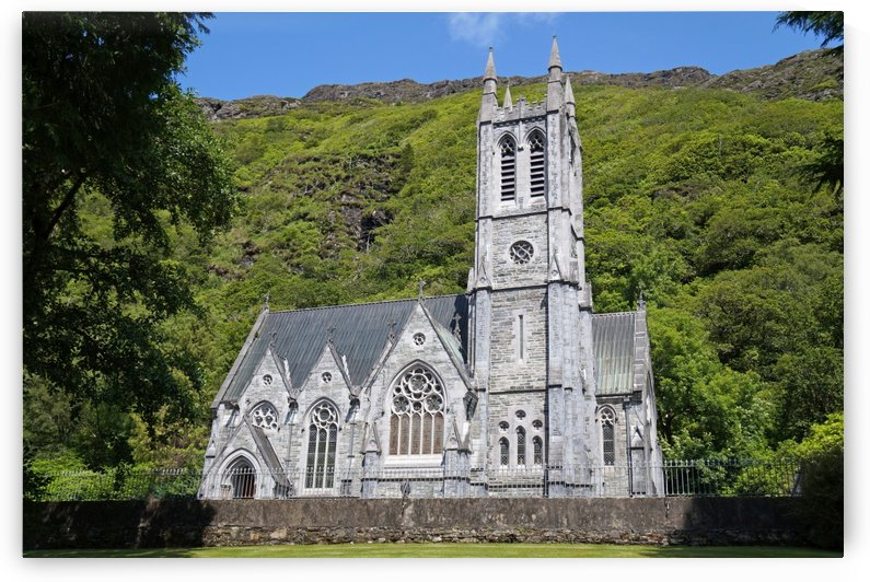 Church at Kylemore Abbey by Babett-s Bildergalerie