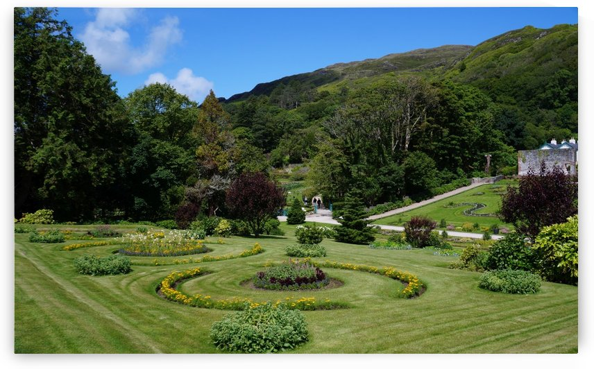 Victorian Walled Garden , Kylemore Abbey, Ireland, by Babetts Bildergalerie
