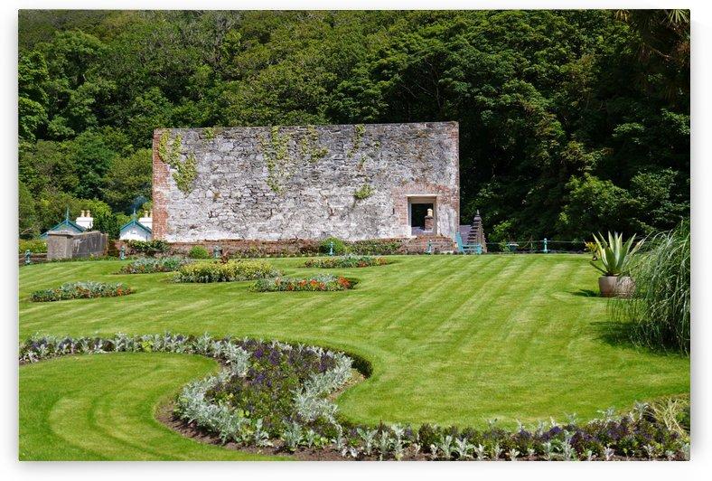 Victorian Walled Garden , Kylemore Abbey, Ireland, by Babett-s Bildergalerie