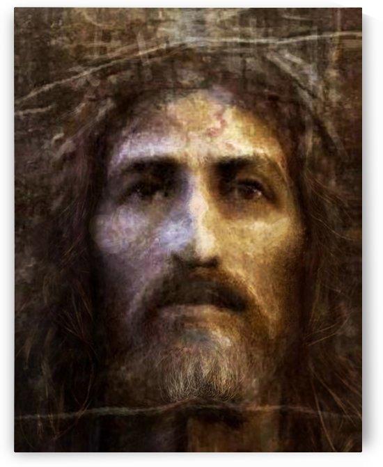 Christ face reconstruction by ArtofCaelia