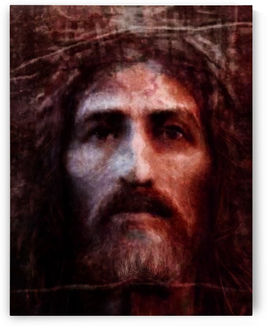 Christ face reconstruction claret by ArtofCaelia