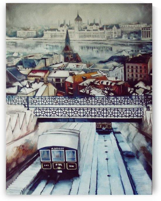 Nostalgia Cable Car in Budapest by ArtofCaelia