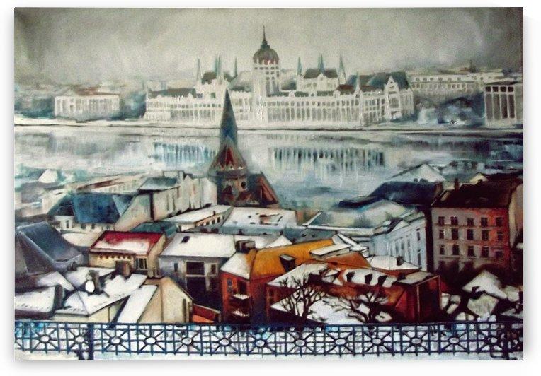 Budapest in wintertime by ArtofCaelia